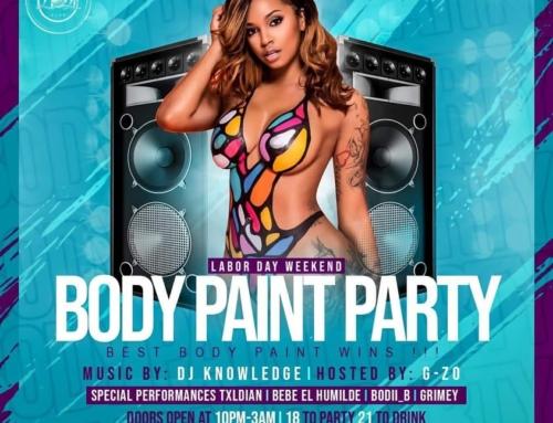 Body Paint Party – Laugh Lounge